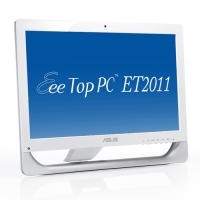 "ASUS EeeTop PC ET2011E-W003E 3GHz E5700 20"" 1600 x 900Pixel Bianco PC All-in-one"