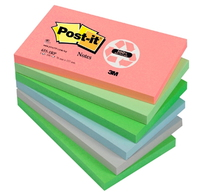 3M Post-It 655RB Verde, Multicolore quaderno per scrivere