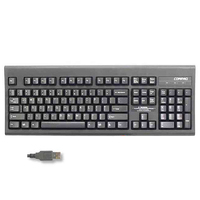 HP 242372-131 USB QWERTY Portoghese Nero tastiera