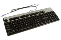 HP 537745-221 PS/2 QWERTY Ceco Nero tastiera