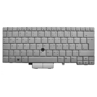 HP 597841-131 QWERTY Portoghese Argento tastiera