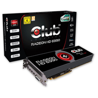 CLUB3D CGAX-69996 Radeon HD6990 4GB GDDR5 scheda video