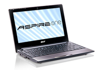 "Acer Aspire One AOD255E-13DQcc 1.66GHz N455 10.1"" 1024 x 600Pixel Rame Netbook"