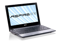 "Acer Aspire One AOD255E-13DQws 1.66GHz N455 10.1"" 1024 x 600Pixel Bianco Netbook"
