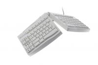 BakkerElkhuizen Goldtouch Adjustable USB+PS/2 QWERTY Inglese Bianco tastiera
