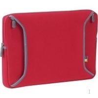 "Case Logic 13"" Laptop Shuttle Neoprene Red 13"" Custodia a tasca Rosso"