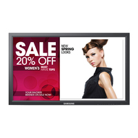 "Samsung 460FP-3 Digital signage flat panel 46"" Full HD Nero signage display"