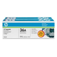 HP 36A Black Dual Pack LaserJet 2000pagine Nero