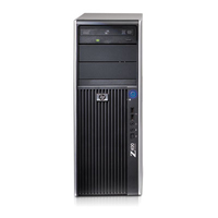 HP Z400 3.2GHz W3565 Mini Tower Nero PC