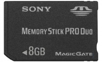 Sony Memory Stick Pro Duo 8GB 8GB MS memoria flash