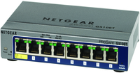 Netgear GS108T Managed network switch Supporto Power over Ethernet (PoE)
