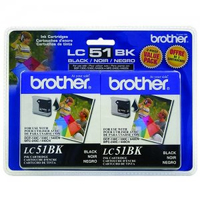 Brother LC51BK Nero cartuccia d