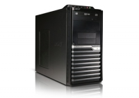 Acer Veriton VM498G-Ui5650W 3.2GHz i5-650 Mini Tower Nero, Argento PC