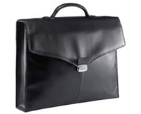 "Sony VGPEMBCM01 Black Leather Case 14"" Valigetta ventiquattrore Nero"