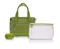 "Sony Ladies Bag by Mandarina Duck in Natura Green 13.3"" Ventriquattore da donna Verde"