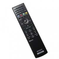 Sony 9689287 RF Wireless Pulsanti Nero telecomando