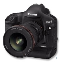 Canon EOS 1D Mark III 10.1MP CMOS Nero