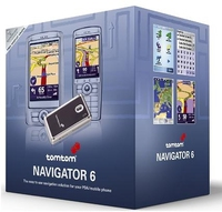 TomTom NAVIGATOR 6 - Software & Maps of Western Europe on memory card + GPS receiver NMEA 0183 20channels ricevitore GPS