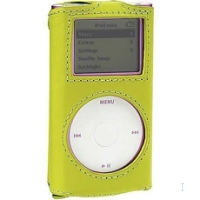 Case Logic Leather Case for iPod mini, Green Verde