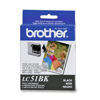 Brother LC51BKS Nero cartuccia d