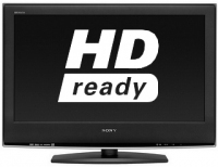 "Sony KDL-26S2030 HD Ready 26"" S High Picture Quality Digital LCD TV 26"" HD Nero TV LCD"