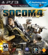 Sony SOCOM 4: U.S. Navy SEALs PlayStation 3 videogioco