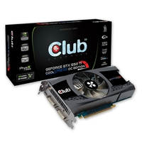 CLUB3D CGNX-XT55024O GeForce GTX 550 Ti 1GB GDDR5 scheda video