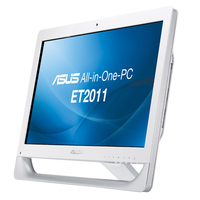 "ASUS EeeTop PC ET2011AUTB-W001E 1.6GHz E-350 20"" 1600 x 900Pixel Touch screen Bianco PC All-in-one"