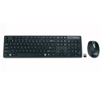 Toshiba PA3871U-1ETB RF Wireless QWERTY Nero tastiera