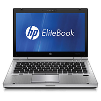 "HP EliteBook LQ166AW 2.5GHz i5-2520M 14"" Nero, Argento"