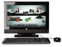 "HP TouchSmart 610-1030uk 3.2GHz i5-650 23"" 1920 x 1080Pixel Nero"