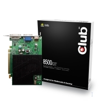 CLUB3D GeForce 8500GT Silent GeForce 8500 GT GDDR2