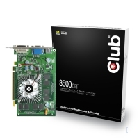 CLUB3D CGNX-G856 GDDR2 scheda video