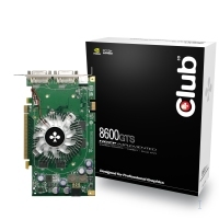 CLUB3D CGNX-GTS866 GDDR3 scheda video