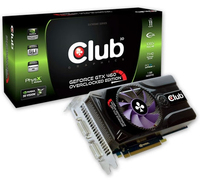 CLUB3D CGNX-X46024FO GeForce GTX 460 1GB GDDR5 scheda video