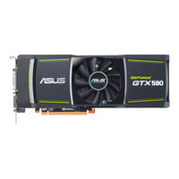 ASUS ENGTX590/3DIS/3GD5 GeForce GTX 590 3GB GDDR5 scheda video
