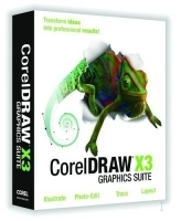 Corel CorelDRAW Graphics Suite X3, CTL, Education, 1 - 60 users