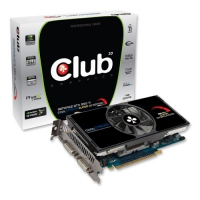 CLUB3D CGNX-XT55024SO GeForce GTX 550 Ti 1GB GDDR5 scheda video