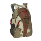 "Toshiba Backpack Desert with Katakana logo 15.4"" Zaino Marrone"