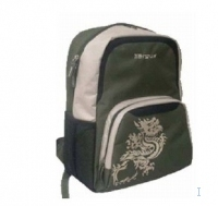 "Targus Back to School Backpack 15.4"" Zaino Grigio"