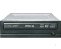 Samsung DVD-Writer 20x Super-WriteMaster, Black + Software Interno Nero lettore di disco ottico