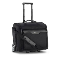 "HP Deluxe Roller Case 17"" Trolley case Nero"