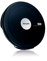 Philips EXP2542/00 Portable CD player Nero, Bianco CD player