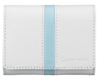 Sony Leather Carrying Case for W and T Series Cyber-shot® Bianco