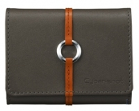 Sony Leather Carrying Case for Cyber-shot ® Digital Cameras - Grey Grigio