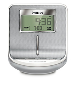 Philips AJ100/05 Orologio Digitale Argento radio