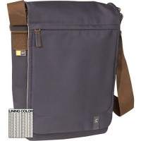 "Case Logic XN Vertical Messenger Bag 15.4"" Grey 15.4"" Borsa da corriere Beige"