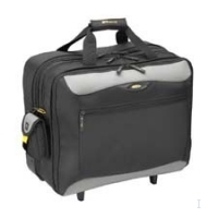 "Targus XL City.Gear Rolling Notebook Case 17"" Trolley case Nero"