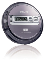 Philips EXP2550/58 Portable CD player Grigio, Argento CD player