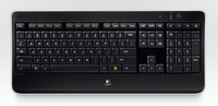 Logitech Wireless Illuminated Keyboard K800 RF Wireless QWERTY Ungherese Nero tastiera